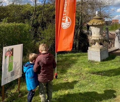 Wandelzoektocht Landelijke Gilde kan nog op kasteeldomein tot 2 mei