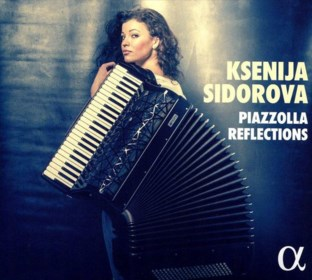 RECENSIE. 'Piazzolla reflections' van Sidorova: Zoetgevooisde accordeon ***