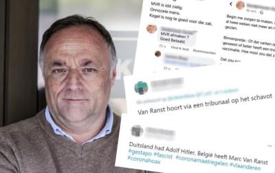 """""""Iemand een trombose toewensen is er ver over"""": Marc Van Ranst is bedreigingen spuugzat, maar zal toch blijven reageren"""