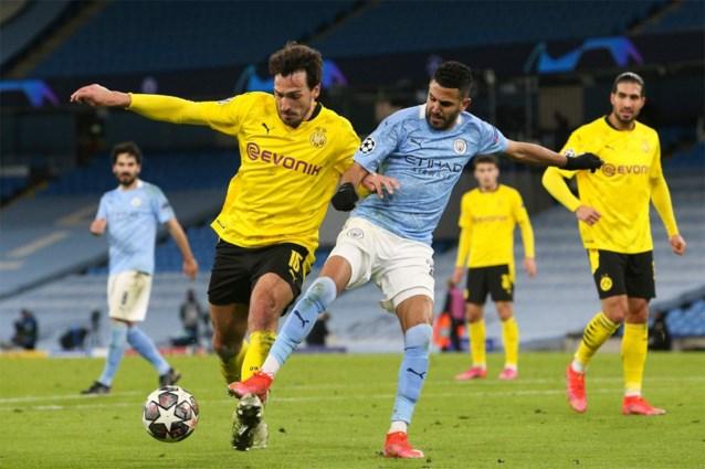 Dortmund-fans houden De Bruyne en co wakker met vuurwerkshow