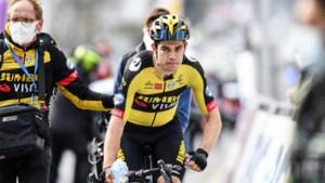 """Wout van Aert ontgoocheld na tweede plaats in Brabantse Pijl:""""Ik voelde veel beestjes die pikten in mijn benen"""""""