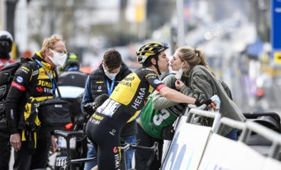 "Wout van Aert baalt maar is eerlijk na tweede plek in Brabantse Pijl: ""Tom Pidcock was gewoon sterker, dat had ik al gevoeld"""