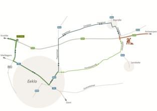 Heraanleg wegdek E34/N49 tussen Vaart- en Stroomstraat
