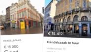 15.000 euro per maand voor een winkel, terwijl leegstand toeneemt: hoge huurprijzen in Gent in het vizier