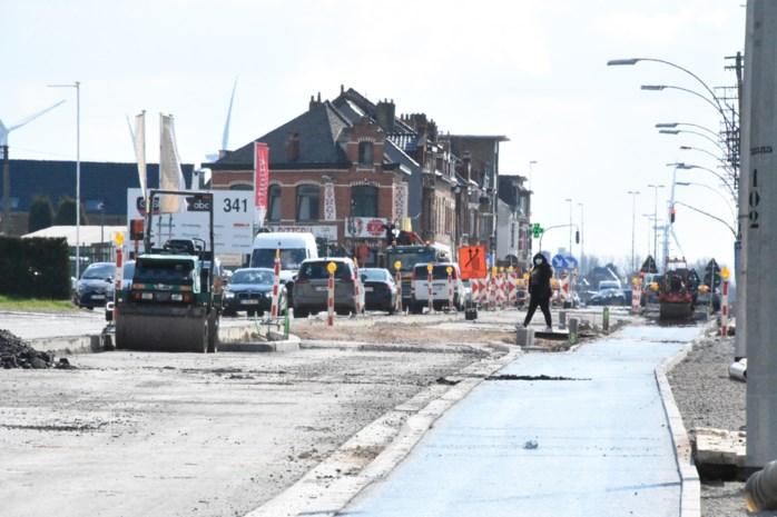 Nieuwe fase van werken Bergensesteenweg gaat in na paasvakantie