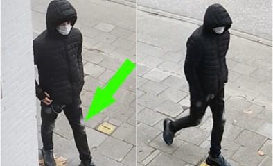 Politie verspreidt beelden van jongeman die gewapende overval pleegt op apotheek in Boom