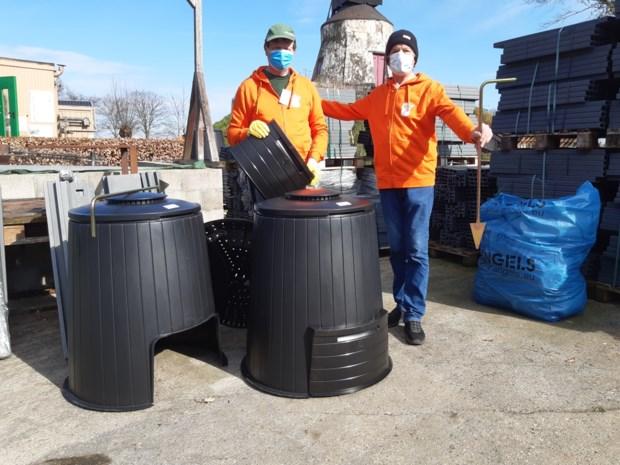Compostmeesters staan weer paraat