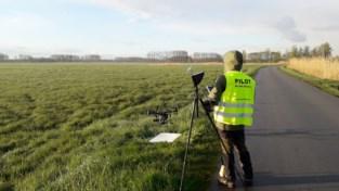 Drone gaat op zoek naar vogels in natuurgebied