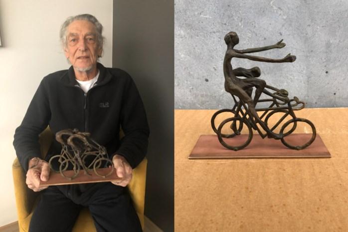 """Rode Sportief doet beroep op kunstenaar Fred Bellefroid (76) voor trofee Brabantse Pijl: """"Mijn beeldjes krijgen vaak een ereplaats"""""""