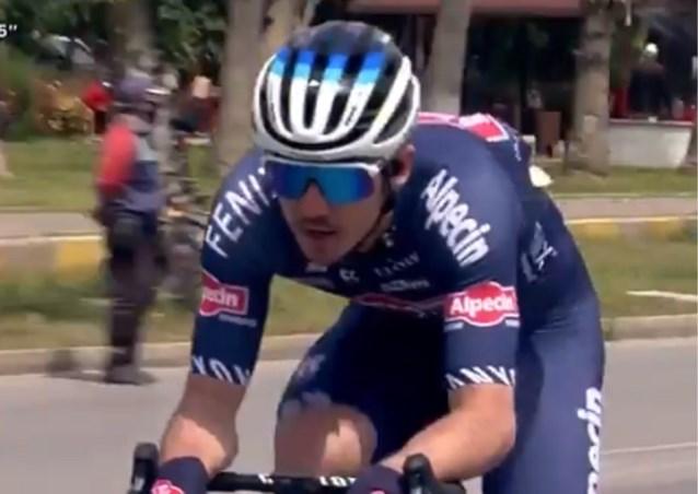 De pinkjes aan de remmen konden niet baten: ploegmaat van Mathieu van der Poel mag van de UCI niet meer starten in Ronde van Turkije