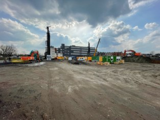 """Internationaal bouwbedrijf bouwt extra kantoren voor duizend werknemers in thuishaven: """"Met trillingsvrije methode, voor minder hinder voor de buren"""""""
