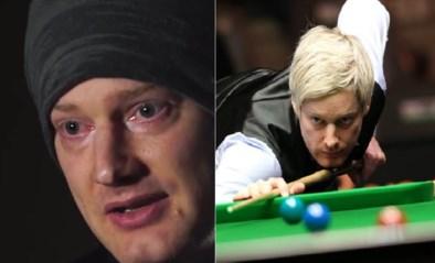 """Topfavoriet voor WK snooker in tranen na """"fantastische"""" geste van echtgenote: """"Twee jaar is heel lang"""""""