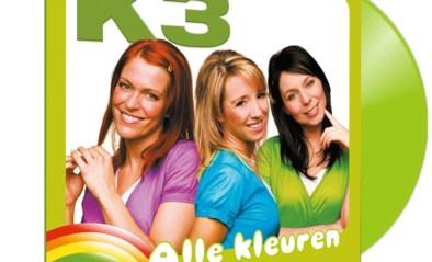 Studio 100 brengt 20 jaar oud K3-album 'Alle kleuren' uit op vinyl
