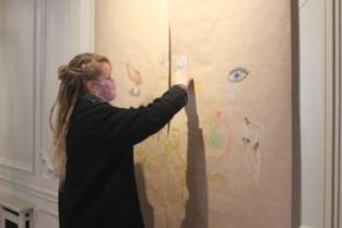 Jongeren halen inspiratie in kunstwerken van oude meesters