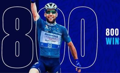 De 800ste zege voor Patrick Lefevere en Quick Step: van Knaven tot Cavendish
