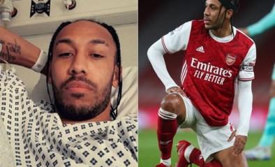 Geen Aubameyang bij Arsenal in de Europa League: topspits in ziekenhuis met malaria