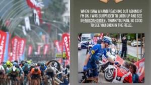 De heldenstatus van Fabio Jakobsen wordt nog wat groter door prachtig gebaar na zware val in Ronde van Turkije