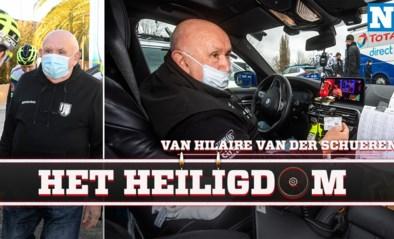 """Binnenkijken in de volgwagen van Hilaire Van der Schueren (Intermarché-Wanty-Gobert): """"Hier ben ik <I>Hilario</I>"""""""