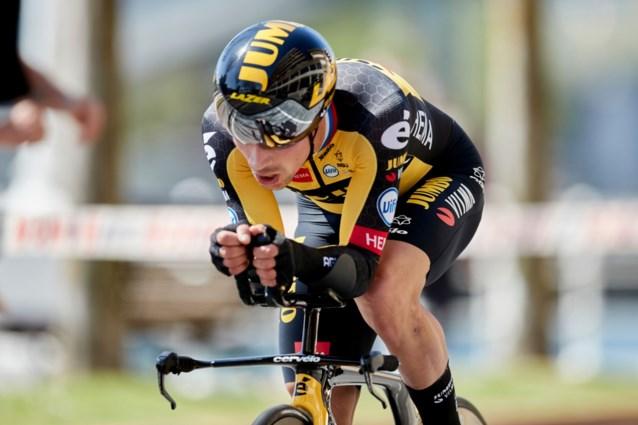 Primoz Roglic rijdt na Luik-Bastenaken-Luik niets tot de Tour