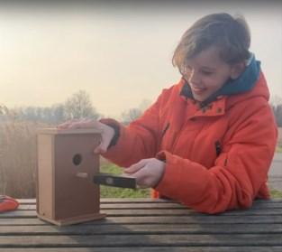 Op zoek naar centen om camera's in nestkastjes te hangen