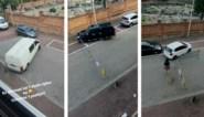 Hasselaar Kjell ziet én filmt de vreemdste parkeermanoeuvres voor zijn deur