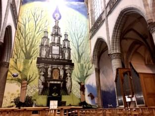 Vreemde wezens verschijnen tijdens livestreamconcert in kerk