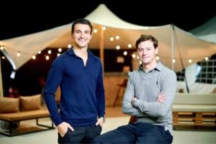 """Duo begon vlak voor corona met verkoop partytenten en verovert nu de wereld: """"Plots moesten we ons kersvers bedrijf fundamenteel heruitvinden"""""""