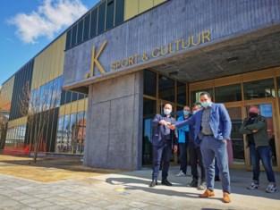 Sport- en cultuurcomplex .K officieel geopend: verenigingen kunnen vanaf volgende week hun hartje ophalen in gloednieuwe infrastructuur