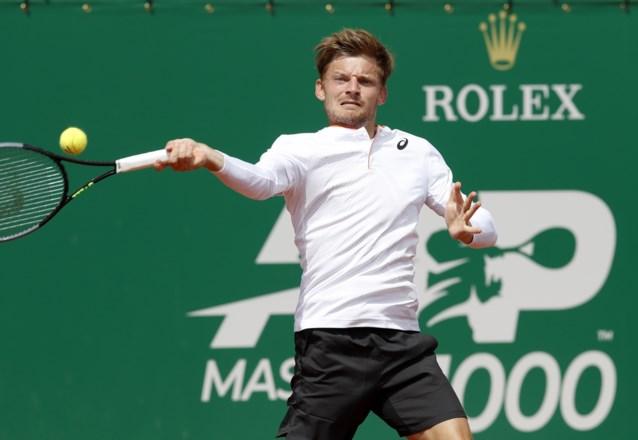 Geen halve finales in Monte Carlo voor David Goffin: Djokovic-killer Daniel Evans is in drie sets te sterk op gravel