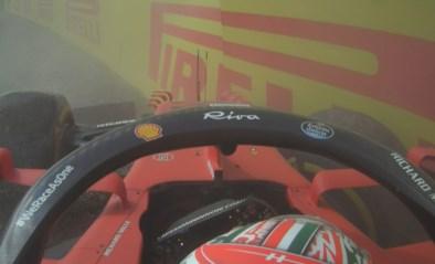 Problemen voor Max Verstappen tijdens tweede oefensessie in Imola, Charles Leclerc crasht
