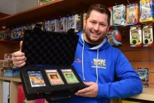 "Yves vond zeldzaamste Pokémonkaart in oud pakje: ""Bod van 415.000 euro heb ik afgeslagen"""
