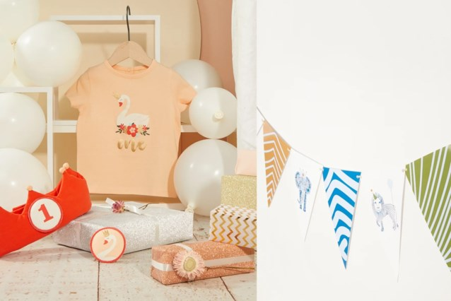 JBC en Ava lanceren samen een verjaardagscollectie voor kinderen