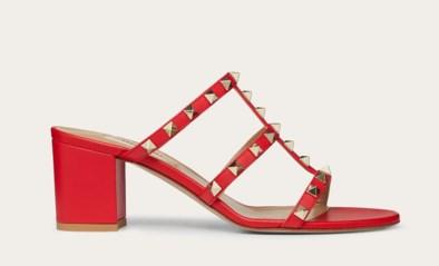 Schoenenfabriek van Valentino brandt af, Prada schiet ter hulp