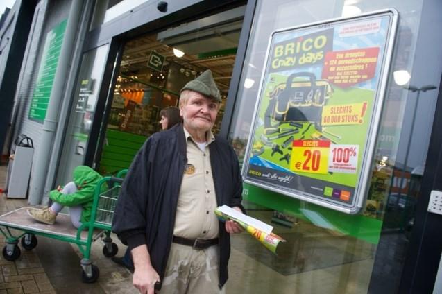 """'Bonnenman' Norbert Verswijver overleden op 73-jarige leeftijd: de """"nachtmerrie van de grote winkelketens"""" is niet meer"""