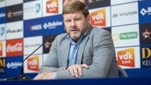 """Hein Vanhaezebrouck leeft sereen toe naar match van de waarheid: """"Nog één kans om voor het eerst dit seizoen in top-8 te raken"""""""