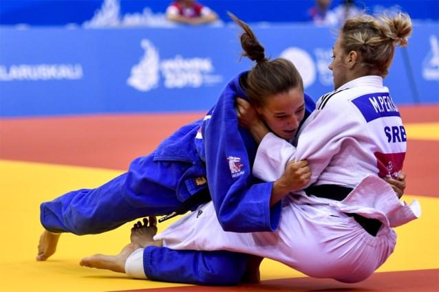 Mina Libeer grijpt naast brons op EK judo