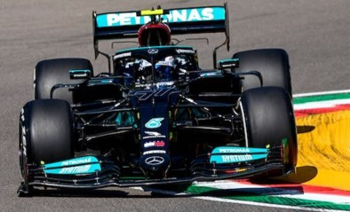 Max Verstappen zit Mercedes op de hielen tijdens eerste oefensessie GP van Emilia-Romagna
