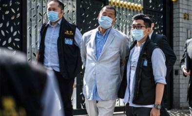 Mediatycoon Jimmy Lai veroordeeld voor prodemocratische protesten in Hongkong