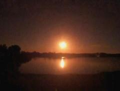 "Meteoroïde verlicht hemel boven Florida: ""Wow, wat was dat?!"""