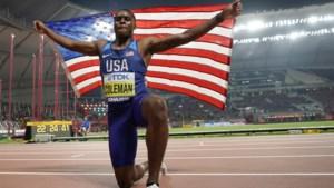 Wel strafvermindering maar geen Spelen voor Amerikaans topspurter Christian Coleman