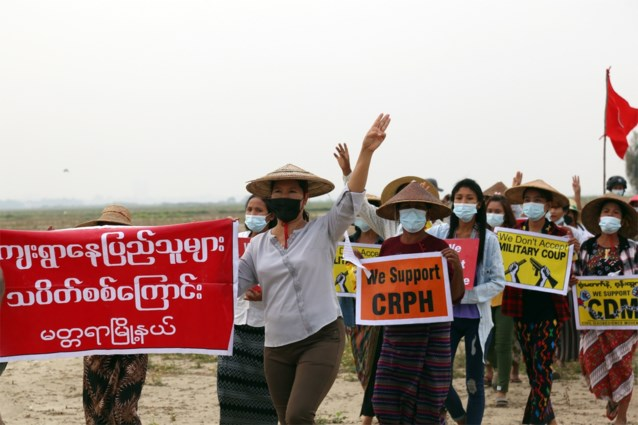 """Tegenstanders van militaire junta in Myanmar verenigen zich in """"eenheidsregering"""""""