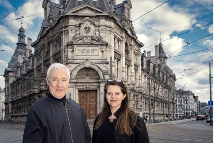 Hasseltse designparel Donum palmt in Antwerpen historisch pand in van Nationale Bank