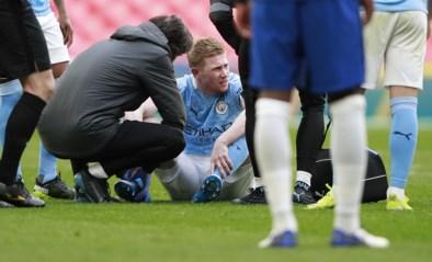 Zorgen om Kevin De Bruyne: Rode Duivel verlaat halve finale FA Cup met enkelblessure