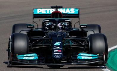 Lewis Hamilton troeft Red Bulls af en wint spannende strijd om de pole GP van Emilia-Romagna, zware crash Yuki Tsunoda