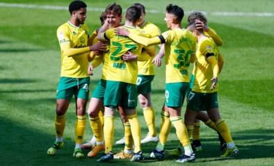 Eén seizoen tweede klasse volstond: Norwich City viert terugkeer naar Premier League