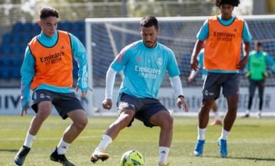 Eden Hazard ontbreekt ook in Real-selectie voor uitwedstrijd bij Getafe