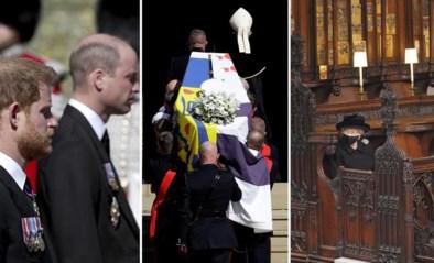 De broers praten weer en een onbekende steun voor de Queen. Dit viel onze royaltywatcher op tijdens de begrafenis van prins Philip