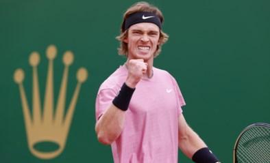 Rublev volgt Tsitsipas naar finale in ATP Monte Carlo