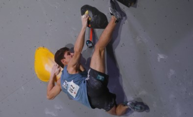 Nicolas Collin sneuvelt in halve finales in WB muurklimmen