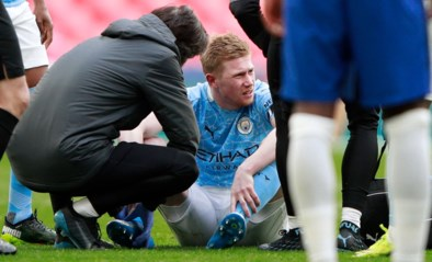 """Kopzorgen om Kevin De Bruyne na vervanging halve finale FA Cup: """"Het ziet er niet goed uit"""""""